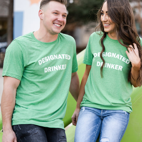 Lush Fashion Lounge women's boutique Oklahoma City,  designated drinker t-shirt, St Patrick's Day t-shirt,