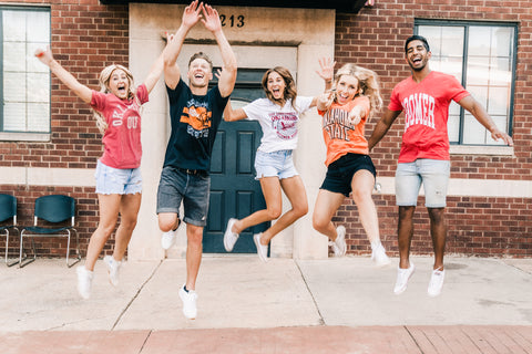 OU t-shirts and OSU t-shirts from Lush Fashion Lounge women's boutique in Oklahoma City
