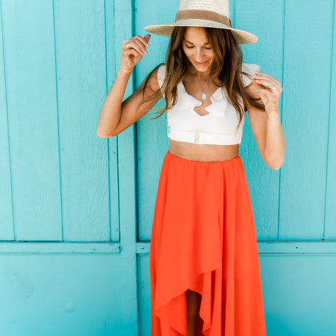 Vacay outfit from Lush Fashion Lounge women's boutique in Oklahoma City