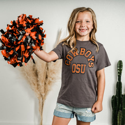 Kids OSU t-shirt from Lush Fashion Lounge women's boutique in Oklahoma City