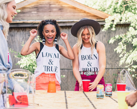 Lush Fashion Lounge Blog: Sneak Peek of Lush University 2019 | Loyal & True tank top, women's Oklahoma graphic tank, Loyal & True graphic tank
