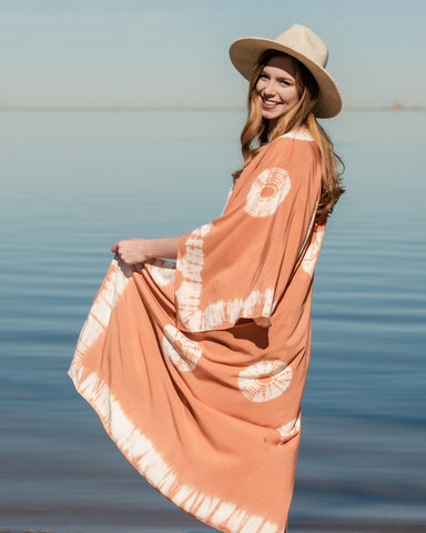 Lush Fashion Lounge, Summer kimono, Summer outfit, Oklahoma boutique, OKC clothing store,