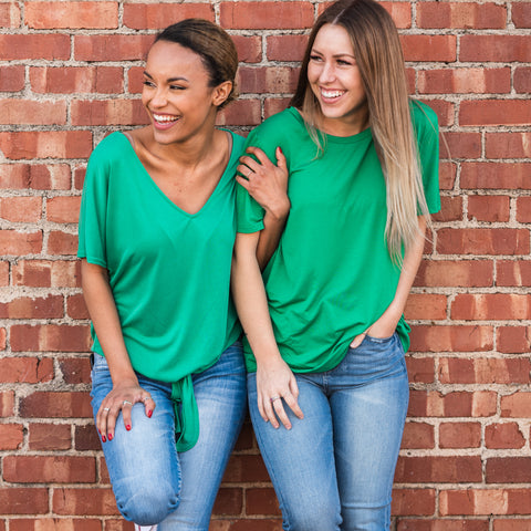 Lush Fashion Lounge Blog: Lucky by Lush 2020 | bright green blouse, boutique women's tops, cute boutique tops, fashion tops for St Patrick's Day, cute boutique clothes