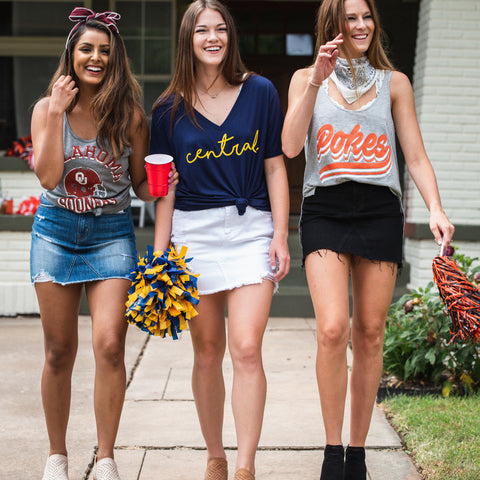 Officially Licensed T-Shirts and Tank Tops for OU, OSU, and UCO