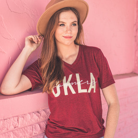Lush Fashion Lounge Blog: Sneak Peek of Lush University 2019 | Okla Sooners shirt, women's Sooners t-shirt, OKLA Sooners t-shirt