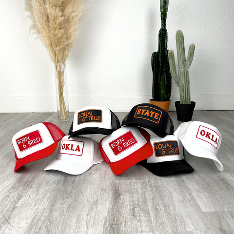 trucker hats from Lush Fashion Lounge women's boutique in Oklahoma City