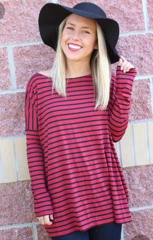 Piko long sleeve top, Piko top, Piko shirt, Piko tee, Piko top, Piko 1988 top, Piko 1988, Lush Fashion Lounge women's boutique