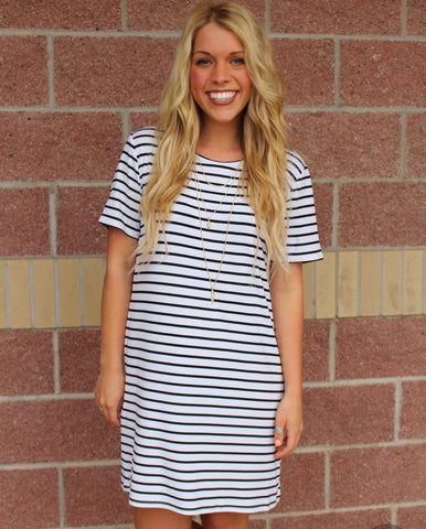 Piko dress from Lush Fashion Lounge women's boutique in Oklahoma City, Piko tunic, Piko top, long Piko shirt,