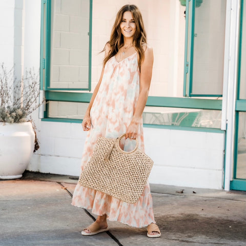 Vacation maxi dress from Lush Fashion Lounge women's boutique in Oklahoma City