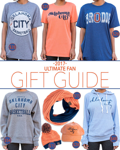 Cute OKC Thunder Gameday Outfits - Trendy Oklahoma City Basketball T-Shirts, Tank Tops and Sweatshirts