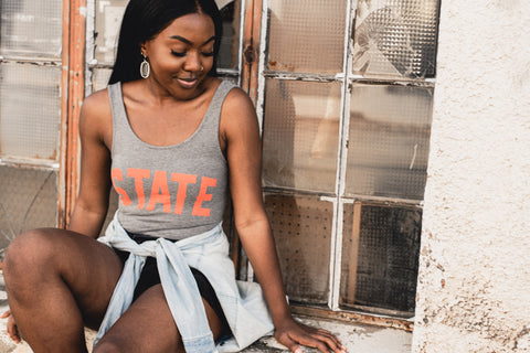 Lush Fashion Lounge Blog: Sneak Peek of Lush University 2019 | women's State tank top, women's OK State tank, OK State tank top, Oklahoma State tank