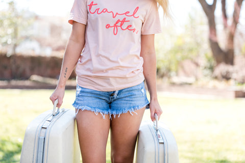 Women's Travel Graphic T-Shirt