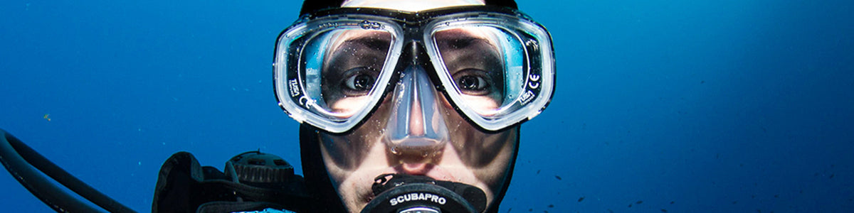 Prescription Snorkel and Dive Masks