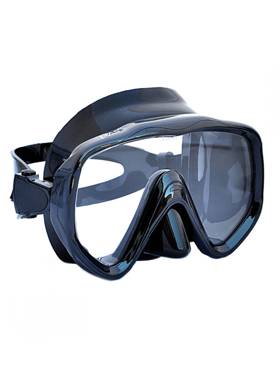 Apollo SV-1 Pro Dive Mask - Black/Black