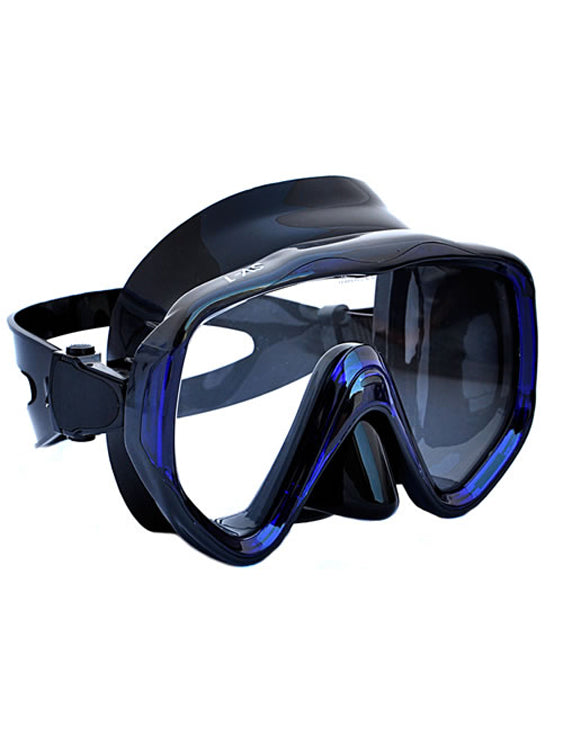 Apollo SV-1 Pro Dive Mask - Black/Blue