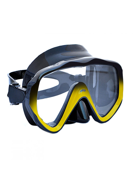 Apollo SV-1 Pro Dive Mask - Black/Yellow