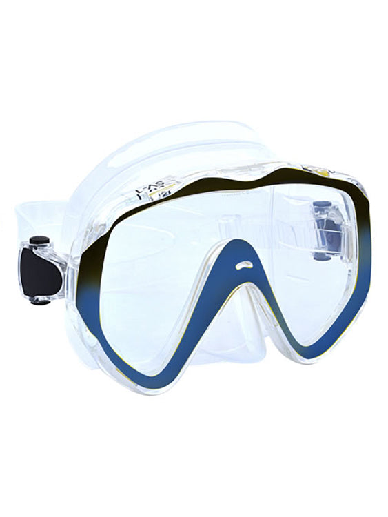 Apollo SV-1 Pro Dive Mask - Clear/Blue
