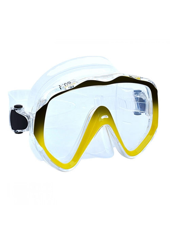 Apollo SV-1 Pro Dive Mask - Clear/Yellow