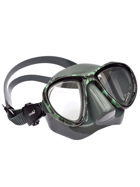 Apollo Sting Dive Mask - Camo