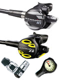 Atomic Aquatics M1 Regulator Set (Yoke) / Octopus (Z2) / Free Termo Gauge