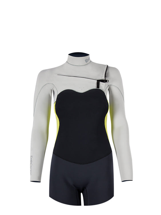 Enth Degree Altum 3/2 Long Sleeve Front Zip - Female (front)