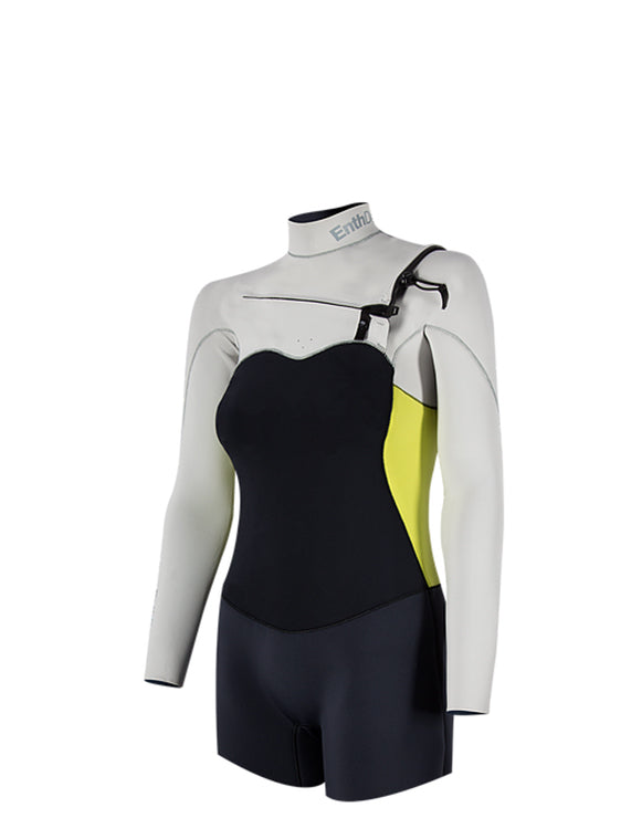 Enth Degree Altum 3/2 Long Sleeve Front Zip - Female (side)