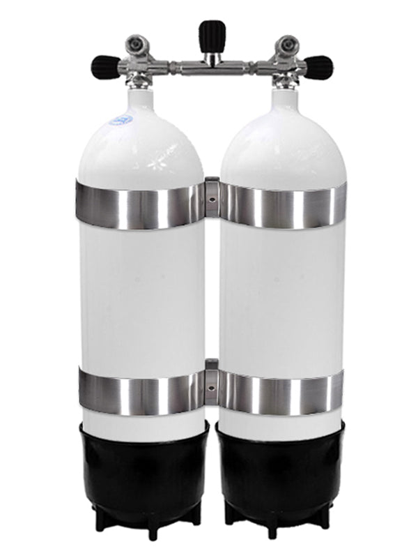 Faber 12.2L Steel Twin Cylinders