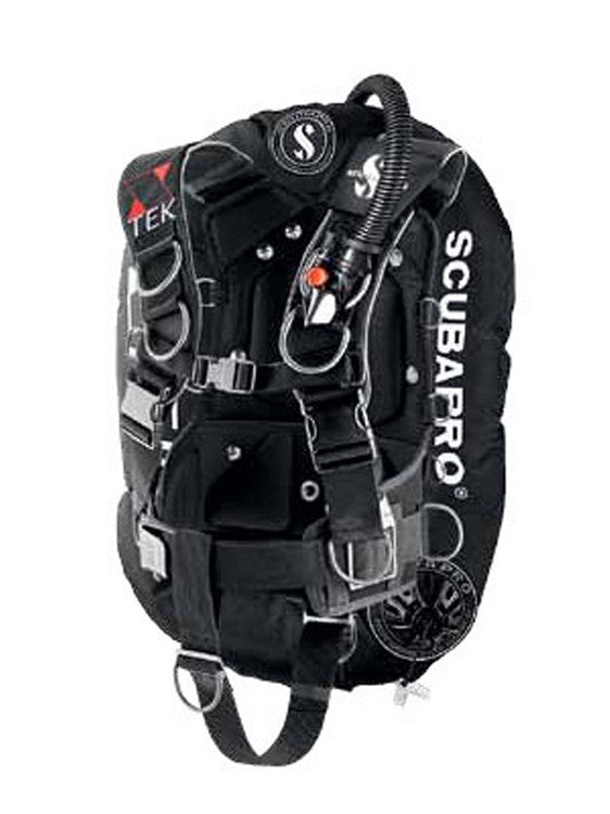 Scubapro X-Tek Form Single Back plate/Wing Setup