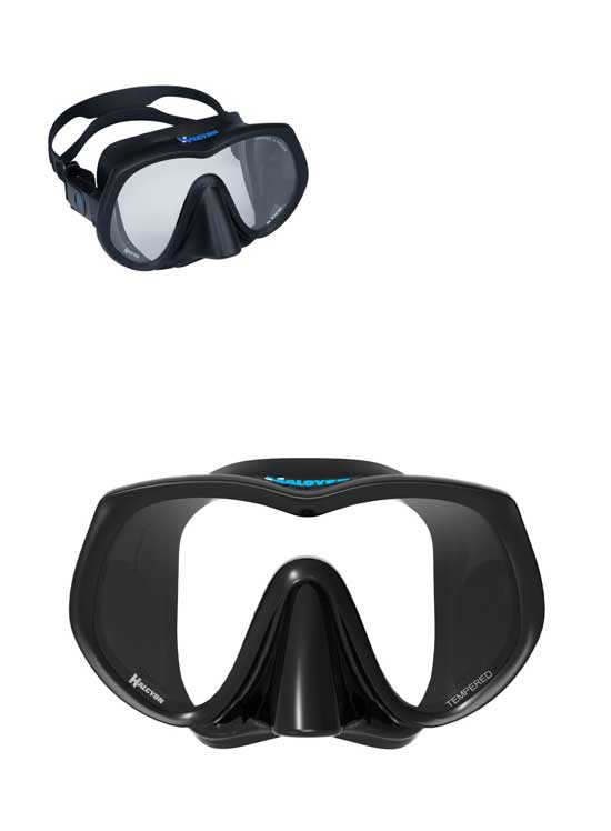Halcyon H-View Frameless Mask Side View