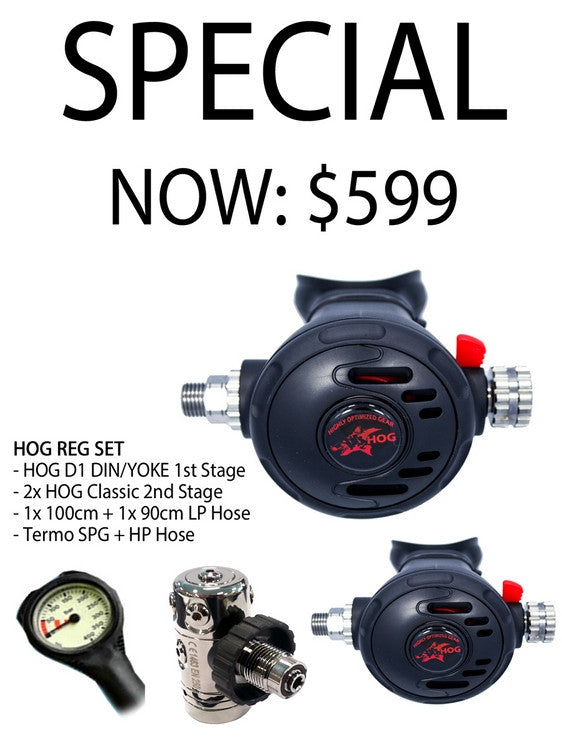 HOG D1/Classic Regulator Set