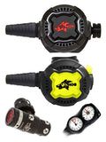 HOG Regulator Set: HOG D3 (DIN) / Zenith Black / Zenith Black + Twin Termo Gauge
