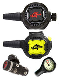 HOG Regulator Set: HOG D3 (DIN) / Zenith Black / Zenith Black + Free Termo Gauge