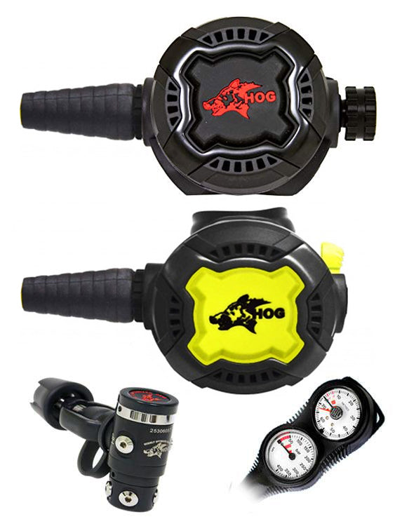 HOG Regulator Set: HOG D3 (Yoke) / Zenith Black / Zenith Black + Twin Termo Gauge