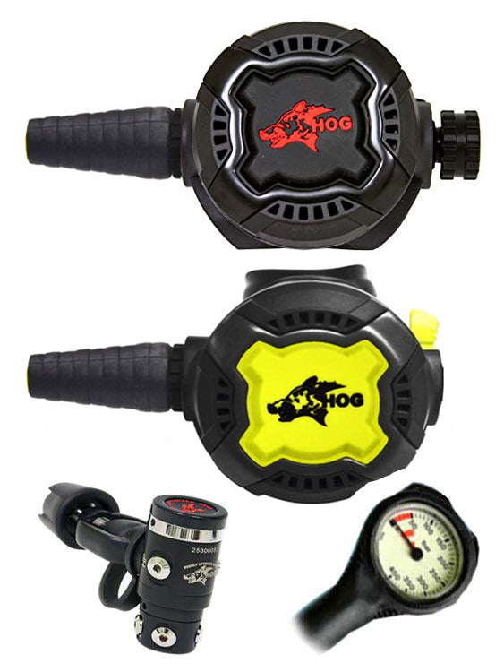 HOG Regulator Set: HOG D3 (Yoke) / Zenith Black / Zenith Black + Termo Gauge