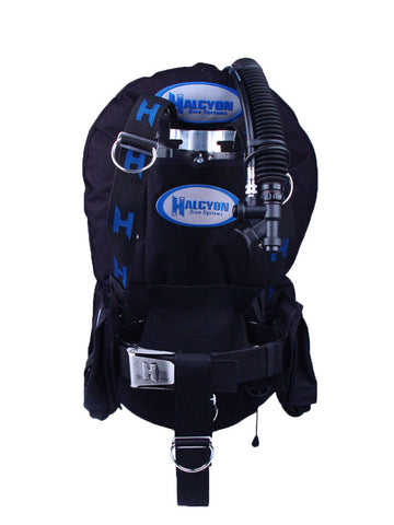 Halcyon Carbon Fibre Plus Backplate with Harness (with QC System & STA)