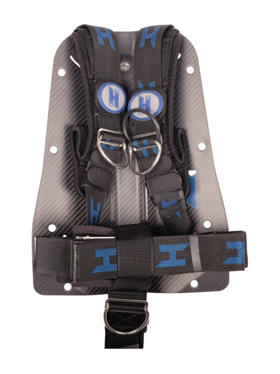 Halcyon Carbon Fibre Backplate with Harness (with Quick Cinch System & STA System)