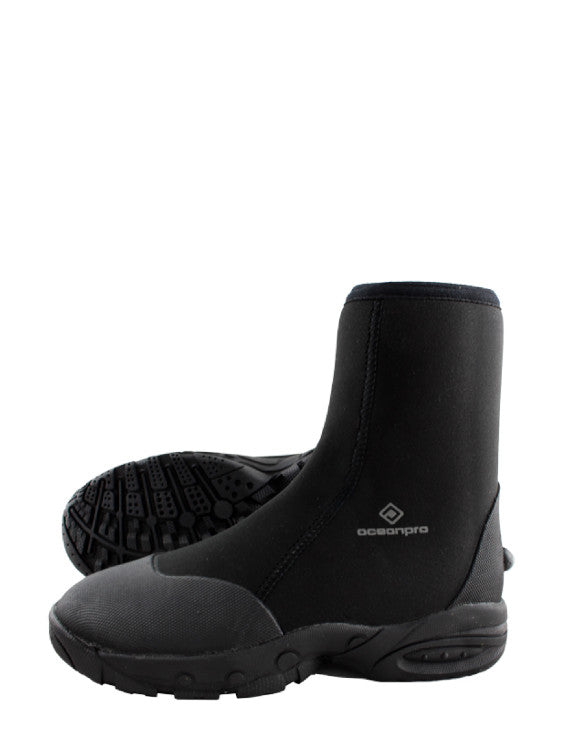 Ocean Pro Traxion 5mm Hard Sole Boots