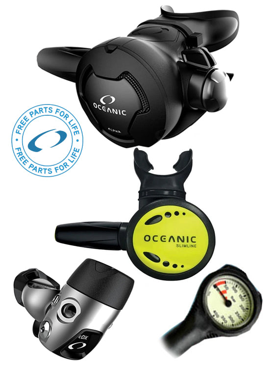 Oceanic Alpha 10 / CDX / Slimline Occy Regulator Set Yoke