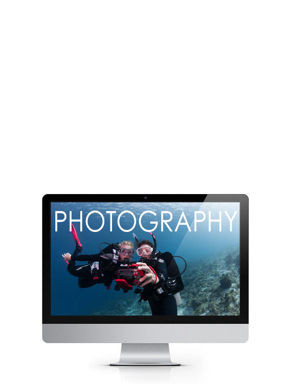 PADI Digital Underwater Photography Specialty eLearning