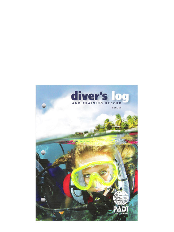 PADI Diver's Logbook and Training Record