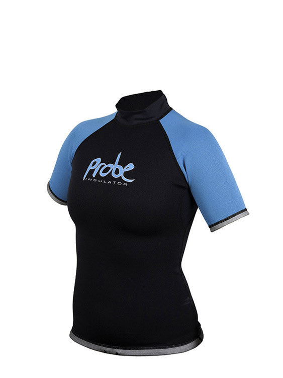 Probe Insulator Short Sleeved Top Ladies