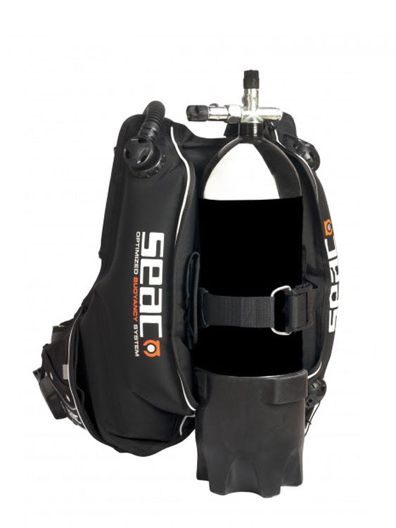 SEAC Sub Sherpa BCD - Rear View
