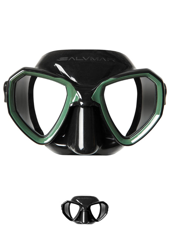 Salvimar Morpheus Mask Green and Black