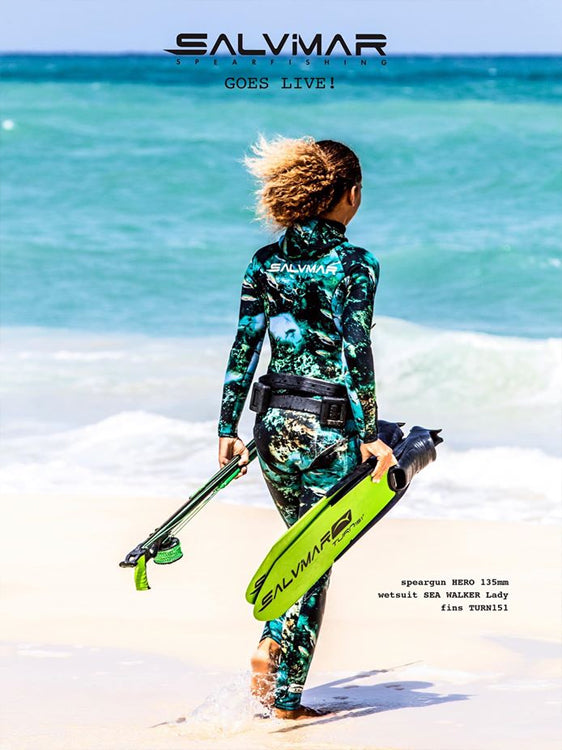 Salvimar Sea Walker Lady 3.5mm Wetsuit Lifestyle Back