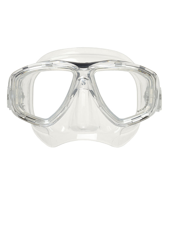 Scubapro Flux Twin Lens Mask - Clear/Clear