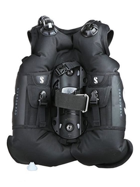 Scubapro Hydros Pro BCD Rear View