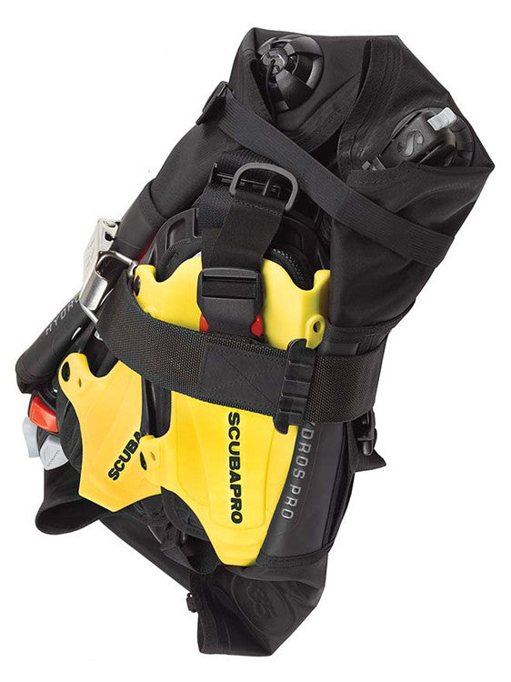 Scubapro Hydros Pro BCD Backpack Rear View