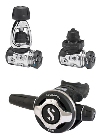 Scubapro MK25 Evo / S600 Tech Diver Regulator Set