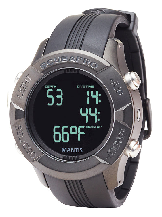 Scubapro Mantis 1 Dive Computer (M1) Black Tech