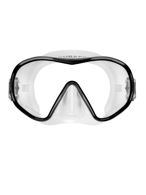 Scubapro Solo Mask - Clear/Black